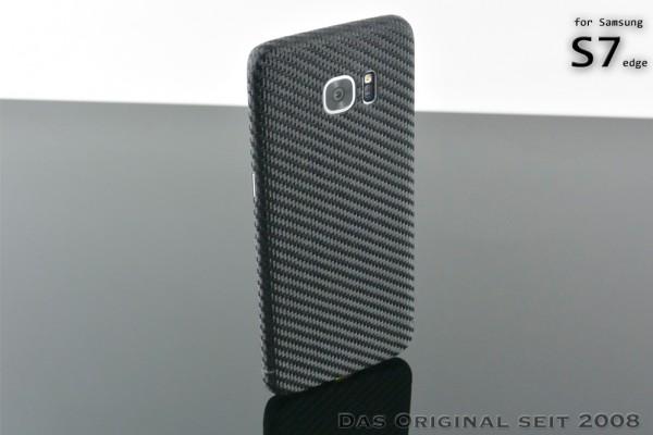 Carbon Cover Samsung S7 edge