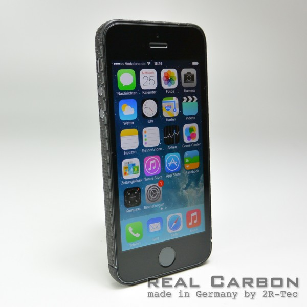 Carbon Cover iPhone 5s