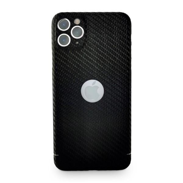 Carbon Cover iPhone 11 Pro Max met Logo Window
